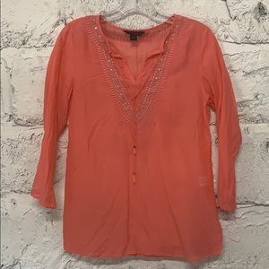 Express XS sheer blouse/coverup